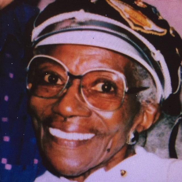 The elder Bessie Stringfield via Ann Ferrar Collection.<br> In 2002, the author's work to preserve and write Bessie's story was finally rewarded when<br> Bessie was inducted posthumously to the American Motorcycle Hall of Fame.
